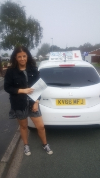 A big congratulations to Lucy Blakeman, who has passed her driving test today, at Cobridge Driving Test Centre with just 1 driver fault.<br />