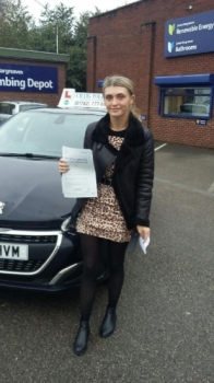 A big congratulations to Mia Grocott, who has passed her driving test today at Newcastle Driving Test Centre.<br />
