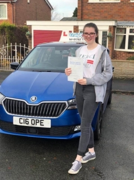 A big congratulations to Rebecca Pagett, who has passed her driving test today at Cobridge Driving Test Centre, at her First attempt and with just 5 driver faults.Well done Rebecca - safe driving from all at Craig Polles Instructor Training and Driving School. 🙂🚗Instructor-Stephen Cope