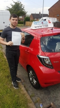 A big congratulations to a Joe Taylor, who has passed his driving test today at Newcastle Driving Test Centre, at his First attempt and with just 2 driver faults.<br />