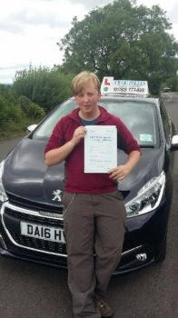 A big congratulations to Adam Jeffery Adam passed his driving test today at Newcastle Driving Test Centre first time and with just 2 driver faults <br />