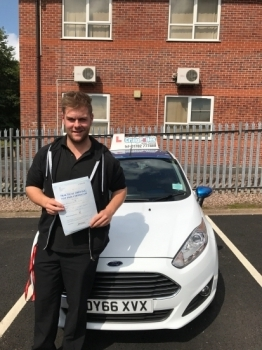 A big congratulations to Alex Gilson Alex passed his driving test at Newcastle Driving Test Centre with just 4 driver faults<br />