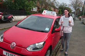 A big congratulations to Amy Rushton Amy passed her driving test today at Newcastle Driving Test Centre with 8 driver faults<br />