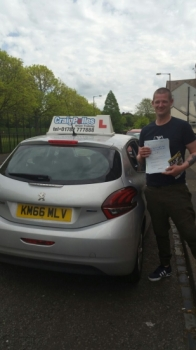 A big congratulations to Andrew Atkinson Andrew passed his driving test at Cobridge Driving Test Centre with just 6 driver faults <br />