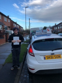 A big congratulations to Brandon Smith, who has passed his driving test today at Newcastle Driving Test Centre, with 6 driver faults.<br />