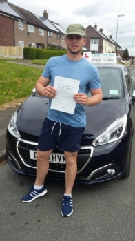 A big congratulations to Callum Mountford Callum passed his driving test today at Newcastle Driving Test Centre with just 3 driver faults<br />