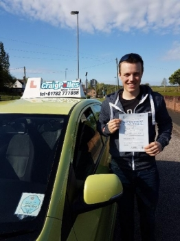 A big congratulations to Charlie Horner Charlie passed his driving test today at Newcastle Driving Test Centre with just 2 driver faults <br />