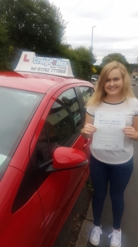 A big congratulations to Claire Moss, who has passed her driving test today at Newcastle Driving Test Centre.<br />