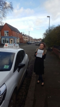 A big congratulations to Ellie Boulton Ellie passed her<br />