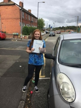 A big congratulations to Georgia Matthews Georgia passed her driving test at Cobridge Driving Test Centre first time and with just 6 driver faults<br />