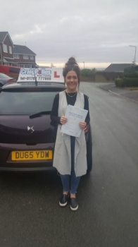 A big congratulations to Hannah Hepworth, who passed her driving test today at Cobridge Driving Test Centre, with just 5 driver faults.<br />