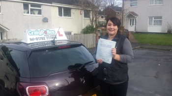 A big congratulations to Jade Evans Jade passed her<br />