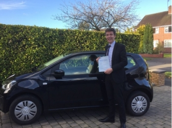 A big congratulations to James Bailey James passed his<br />