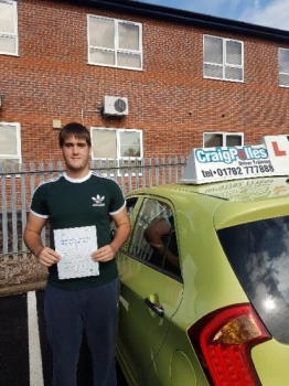 A big congratulations to James Sanderson James passed his driving test today at Newcastle Driving Test Centre with just 3 driver faults<br />