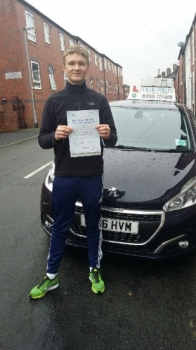 A big congratulations to Joe Podmore Joe passed his<br />