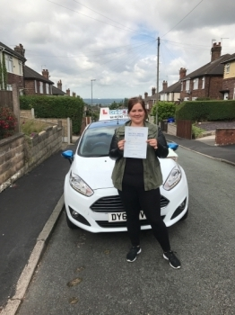 A big congratulations to Laura Woch Laura passed her driving test today at Cobridge Driving Test Centre with just 6 driver faults <br />