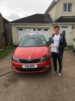 A big congratulations to Luke Harbridge Luke passed his<br />