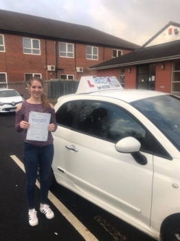 A big congratulations to Martha Davis Martha passed her driving test today at Newcastle Driving Test Centre at her first attempt<br />