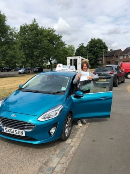 A big congratulations to Megan Wynn, who has passed her driving test today at Newcastle Driving Test Centre.<br />