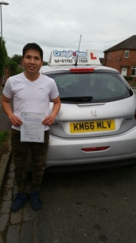 A big congratulations to Ngoc Pham Thanh Ngoc passed his driving test today at Newcastle Driving Test Centre<br />
