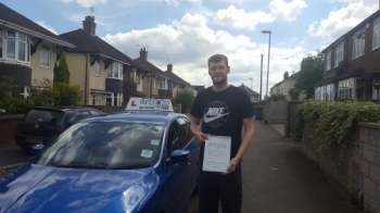 A big congratulations to Oliver Jones Oliver passed his driving test today at Cobridge Driving Test Centre with just 6 driver faults <br />