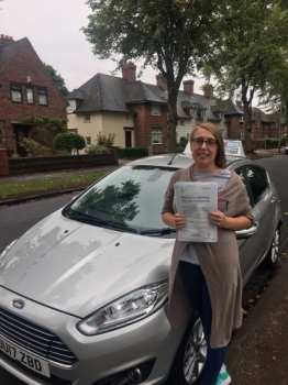 A big congratulations to Cosmina Schiteanu, who has passed her driving test today at Newcastle Driving Test Centre, with 6 driver faults.<br />