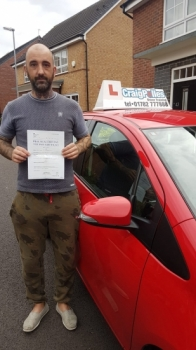A big congratulations to James McDermott, who has passed his driving test today, at Newcastle Driving Test Centre.<br />