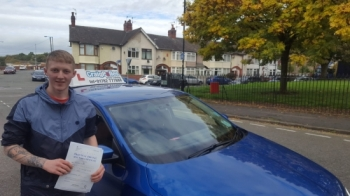 A big congratulations to Josh Allock, who has passed his driving test today at Cobridge Driving Test Centre, at his First attempt and with 0 driver faults.<br />