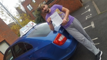 A big congratulations to Adrian Stefan, who has passed his driving test today at Cobridge Driving Test Centre.<br />