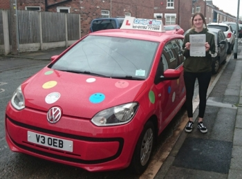 A big congratulations to Tanya Hopwood, who has passed her driving test today at Newcastle Driving Test Centre.<br />