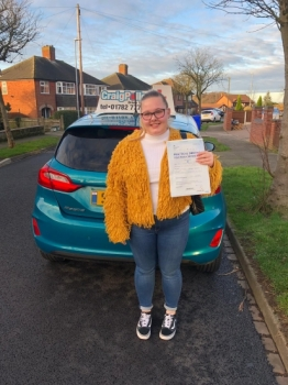 A big congratulations to Imogen Allen, who has passed his driving test today at Newcastle Driving Test Centre, with 7 driver faults.<br />