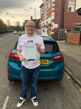 A big congratulations to Mike turner, who has passed his driving test today at Cobridge Driving Test Centre, with just 3 driver faults.<br />