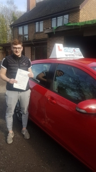 A big congratulations to Richard Parkes, who has passed his driving test today at Newcastle Driving Test Centre, on his First attempt and with just 3 driver faults.<br />