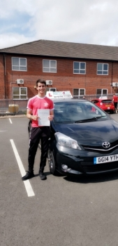 A big congratulations to Jack Hammond, who has passed his driving test today at Newcastle Driving Test Centre, with just 3 driver faults.<br />
