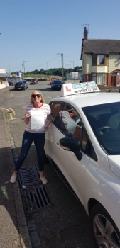 A big congratulations to Michelle Butler, who has passed her driving test today at Cobridge Driving Test Centre, with 6 driver faults.<br />