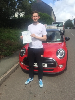 A big congratulations to Matthew Alcock, who has passed his driving test today at Newcastle Driving Test Centre, at his First attempt and with just 1 driver fault.<br />