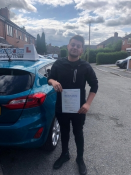 A big congratulations to Matt Martin, who has passed his driving test today at Cobridge Driving Test Centre, with 6 driver faults.<br />