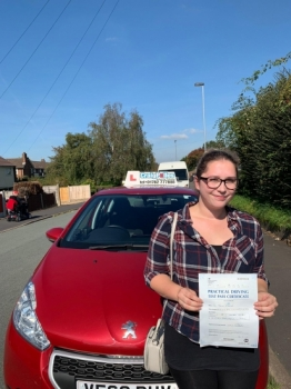 A big congratulations to Dr Zana Martin, who has passed her driving test today at Newcastle Driving Test Centre, with 7 driver faults.<br />