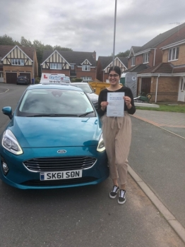 A big congratulations to Jaspreet, who has passed her driving test today at Newcastle Driving Test Centre.<br />