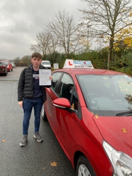 A big congratulations to Cameron Jepson, who has passed his driving test today at Cobridge Driving Test Centre, with just 6 driver faults.<br />