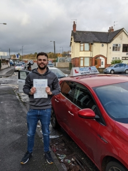A big congratulations to Jack Moulton, who has passed his driving test today at Cobridge Driving Test Centre, at his First attempt and with just 2 driver faults.<br />
