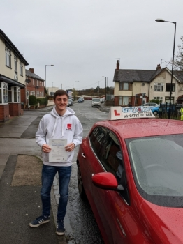 A big congratulations to Ethan Harvey, who has passed his driving test today at Cobridge Driving Test Centre, with just 5 driver faults.<br />