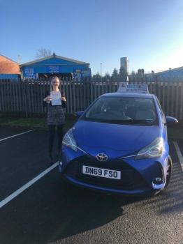 A big congratulations to Courtney Williams, who has passed her driving test at Newcastle Driving Test Centre, with 6 driver faults.Well done Courtney- safe driving from all at Craig Polles Instructor Training and Driving School. 🙂🚗Instructor-Sara Skelson