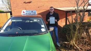 A big congratulations to Jake Corn, who has passed his driving test today at Cobridge Driving Test Centre.Well done Jake- safe driving from all at Craig Polles Instructor Training and Driving School. 🙂🚗Instructor-Jamie Lees