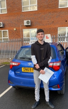 A big congratulations to Tom Plant, who passed his driving test today at Newcastle Driving Test Centre, with 7 driver faults.Well done Tom- safe driving from all at Craig Polles Instructor Training and Driving School. 🙂🚗Instructor-Sara Skelson