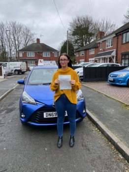 A big congratulations to Brooke Thorley, who passed her driving test today at Newcastle Driving Test Centre, with 8 driver faults.Well done Brooke- safe driving from all at Craig Polles Instructor Training and Driving School. 🙂🚗Instructor-Sara Skelson