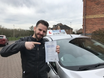 A big congratulations to Pablo, who has passed his driving test at Crewe Driving Test Centre, with just 3 driver faults.<br />