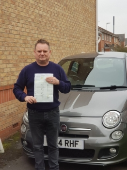 Congratulations today, go to Paul Lees. <br />