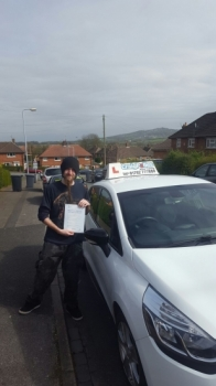 A big congratulations to Rob Ball Rob passed his<br />