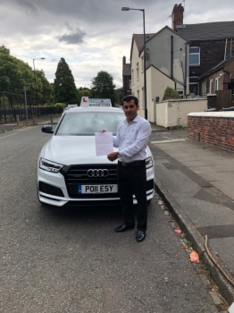 A big congratulations to Sirwan, who has passed his ADI Part 3 Test. All the best with your new career.<br />